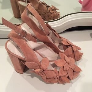 Jeffrey Campbell Lonicera Heels size 8 anthro